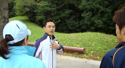マラソン練習会の様子